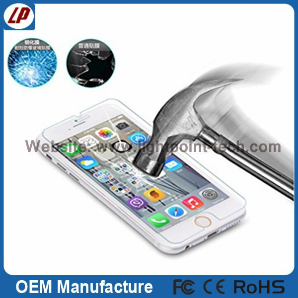 for iphone tempered glass screen protector with design