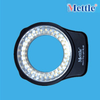 7 bracket ring LED Video Camera Light 3.6W 300LM For Macro Fhotography Studio Light -RL-60