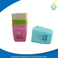 China Manufacture Professional plastic hotel trash can