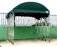 Outdoor General Car Parking Use Dome Retractable Canopies Carports Tent