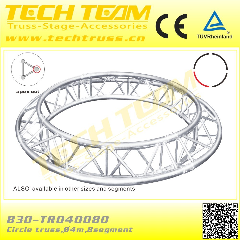 Outdoor Triangle truss aluminum 290mm ,length 1.5m