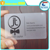 four-color printing matte finish spot UV LOGO Plastic clear translucent transparent business card