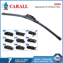 12 adapters Long Lifespan Latest A grade rubber multi-functional windshield wiper blade