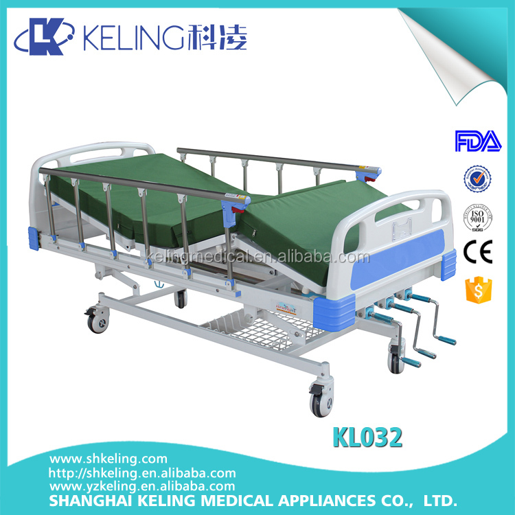 Top grade professional MS perforated platform hot sale cheap hospital beds