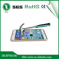 China manufacturer supply anti scratch 0.33mm 9H tempered glass mobile screen protectors iphone 6