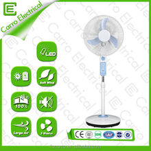 New design 12v 14 or 16 inch solar dc fan battery operated fan