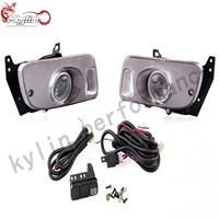 Ryanstar racing Car LED Light 2pcs car door welcome ghost shadow logo night lamp led lights