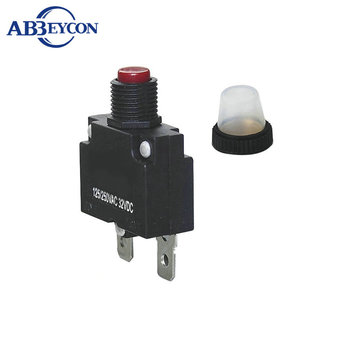 High quality thermal overload protector switch(with wire) for scooter Hot Sale thermal rocker switch with overload protector