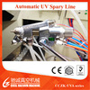 ISO Certificated Automatic Liquid plastic Paint UV Coat Spraying Vacuum Coating Machine