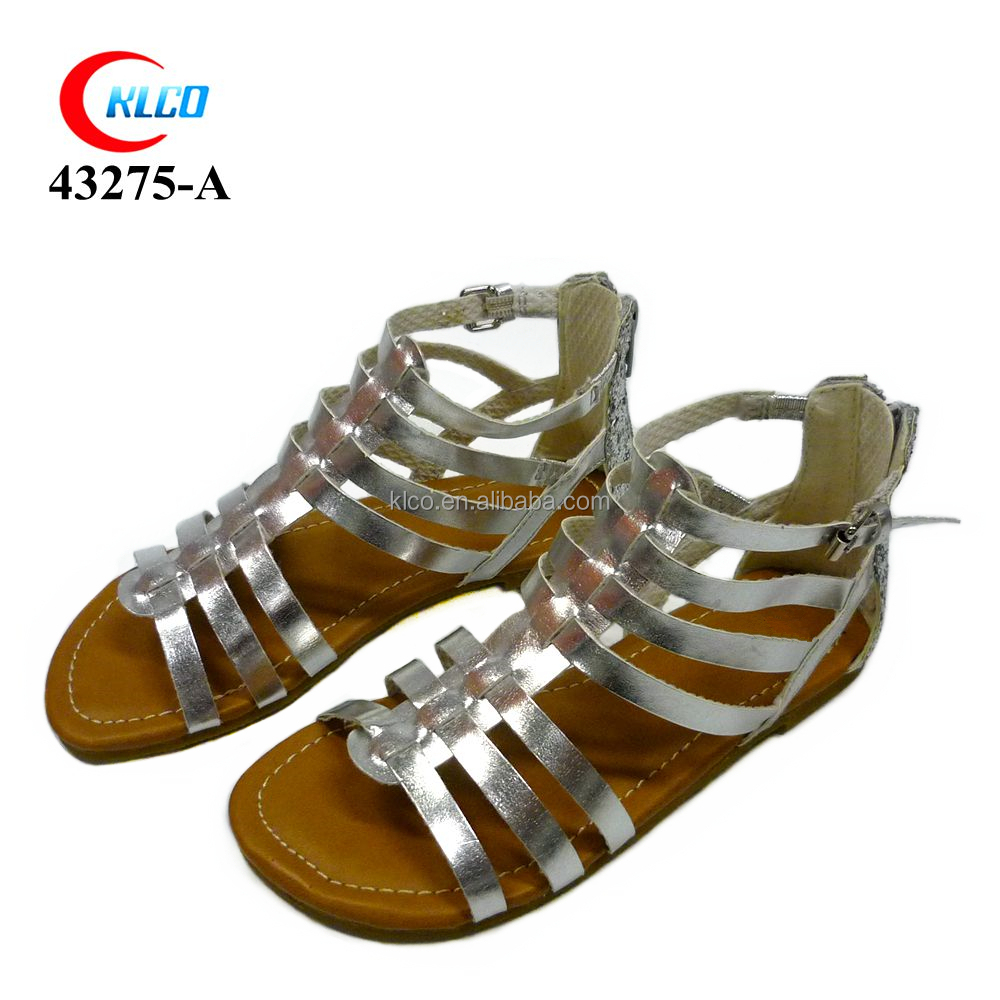fashionable new sexy girl children fancy sandals