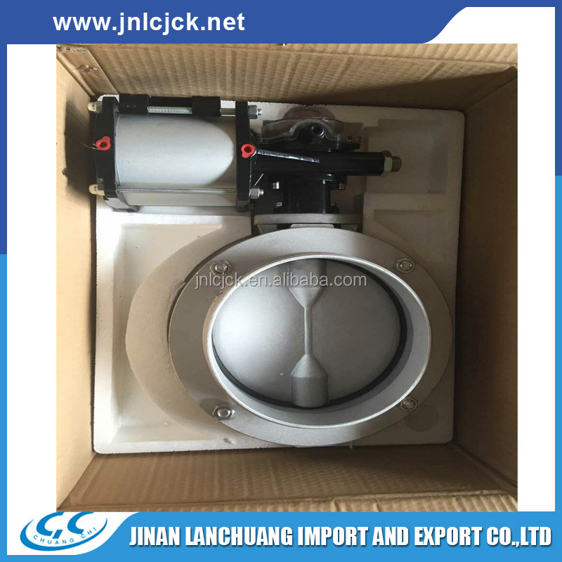cheap powder /cement butterfly valve for AU market