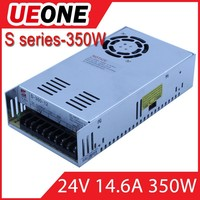 High quality good price 350w 24v s-350-24 single output laser power supply