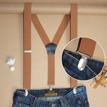 35YP3J01-CS Personalized elastic adjustable decorative pants suspenders