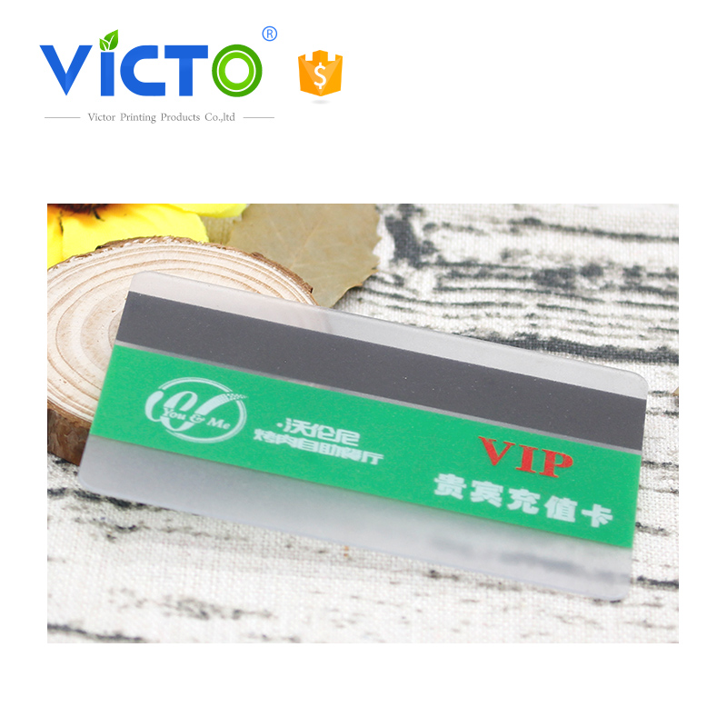 2017 trending products transperant matte finish pvc card with high quality