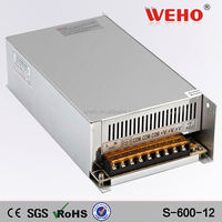 OEM 600W led power supply 12vdc