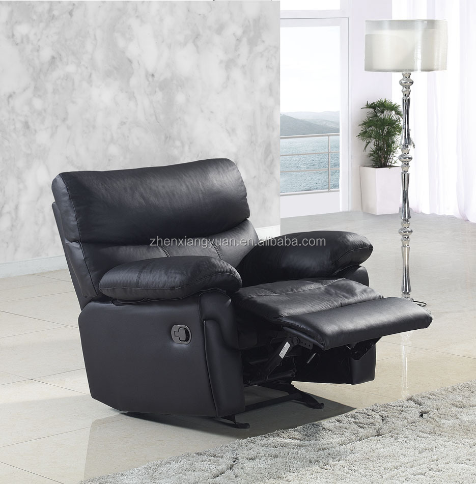 2017 Wonderful manual Recliner black leather Chair One of the Best Recliners Available