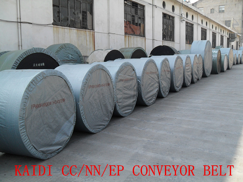 China KAIDI Heat/Flame/Fire-Resistant Conveyor Belt