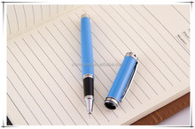 Small order wholesale stationery metal ballpoint pen high end rollerball pens