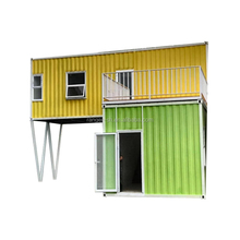 75 mm EPS sandwich panel Prefab Coffee Shop Shipping Container Homes For Sale