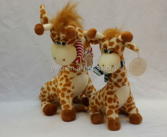 lovely&cheap soft stuffed and plush animal giraffe toy /Best Price Stuffed sheep and goat Plush Soft Toy