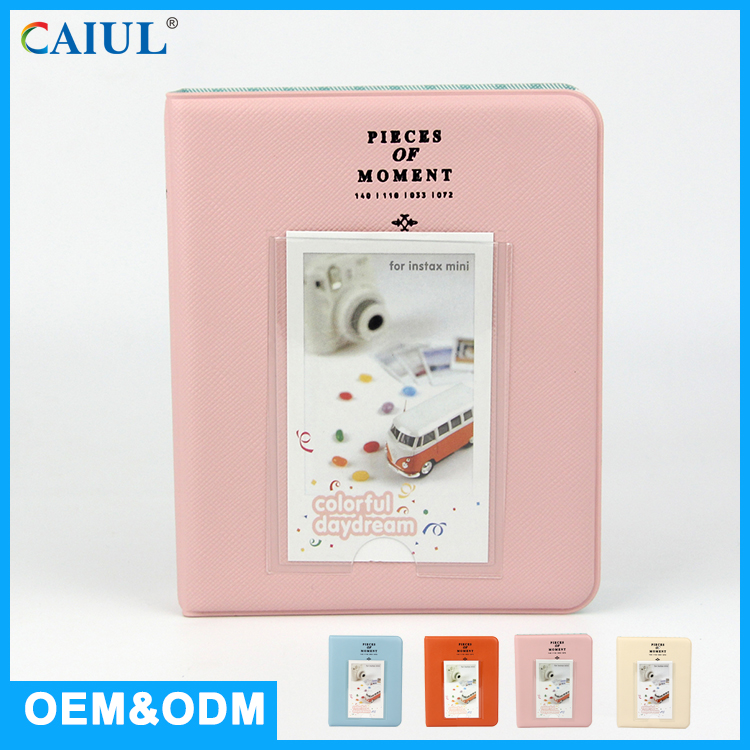 Quality Cute PVC Cover Mini Photo Album For Instant Photo From Foshan