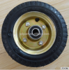 small rubber wheels for kids toy wagon 6x2