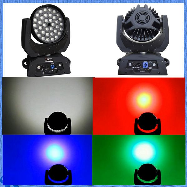 stage moving head light wall washer 4in1 36 10w led moving head wash zoom