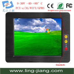 dual core 10.4'' industrial panel pc with 800x600 PPC-104C
