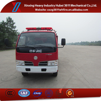 High Quality New Diesel 2t Water Tank Fire Fighting Truck