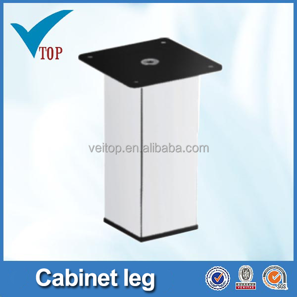 Veitop galvanized square table legs cast iron