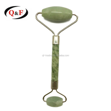 Anti cellulite foot head jaw neck full body jade roller handheld massager roller