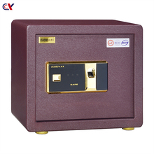 Office home high security metal Electronic mini fingerprint safe box