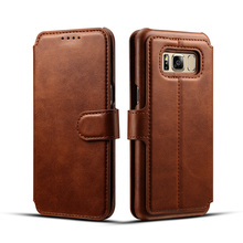 Stand Function Wallet Flip Leather Mobile Phone Case For Samsung Galaxy S8 pu leather cover for galaxy s8 covers