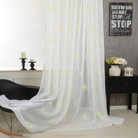 New product Best Selling Satin Rosette Embroidery Curtain Fabric