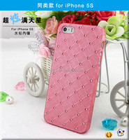 High Quality Crystal Rhinestone Cell Phone Case Cover for iphone 5S ( free screen protector)