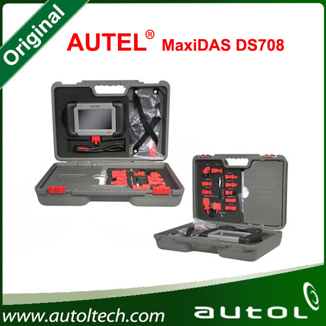 2016 Hot Sale Autel MaxiDAS DS708 Diagnostic Tool Vehicle Diagnostic Machine Update Online