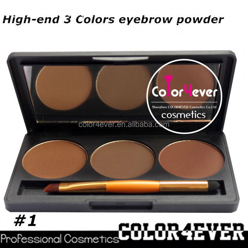 Professional eye makeup palettes 3color Makeup factory Eyeshadow&eyebrow Palette eyeshadow promotion