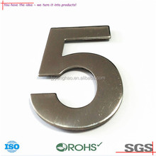 OEM ODM Top grade solar Stainless Steel house number 0123456789 (05-318)