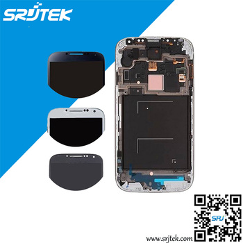 For Samsung Galaxy S4 S IV i9500 i9505 i337 LCD Display Touch Screen With Touch Digitizer Assembly With Frame