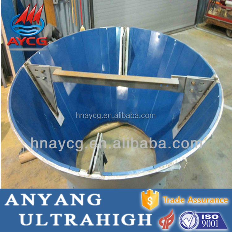 Gravity Gold Mining Equipment Spiral Gold rubbish chute hopper slide chute debris chute