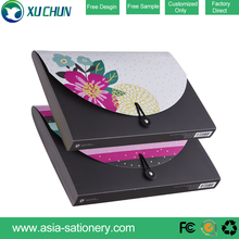 China Office Stationery PP expanding folder A4 size Expanding file folder small flower pattern expanding box file