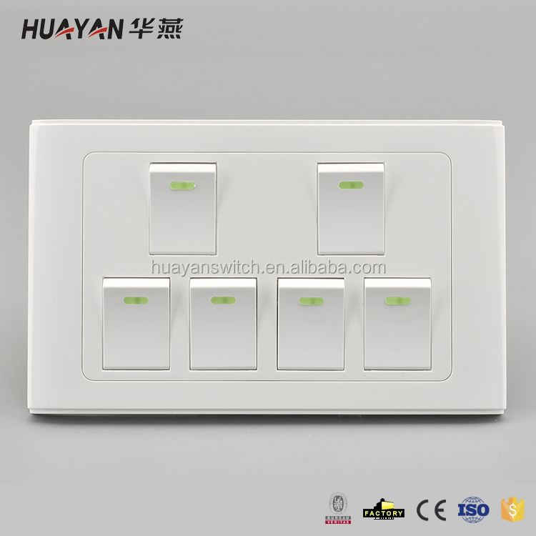 Factory supply attractive style control power electrical wall switch with competitive price