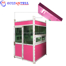 Factory customization color portable photo booth / guard cabins house for entry toll