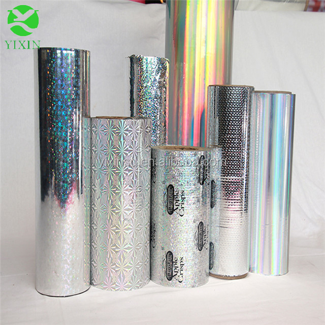 Metalized PET/BOPP/CPP Film laminating film rolls with high metal adhesion