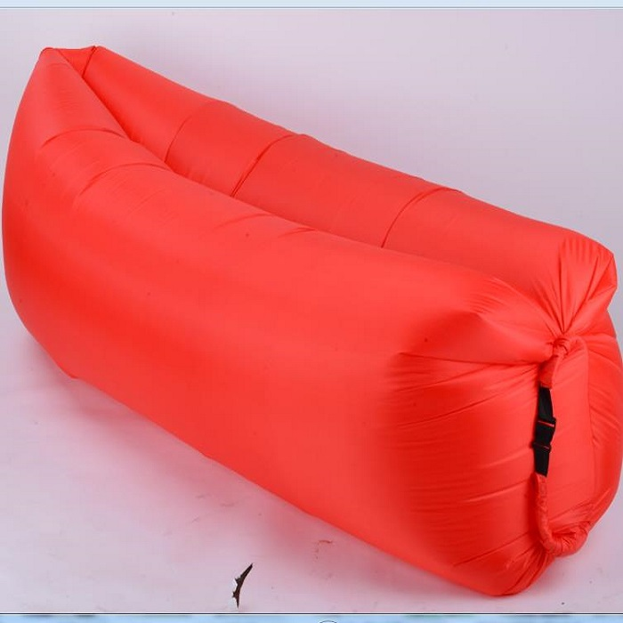 Wholesale shenzhen factory indoor outdoor hangout inflatable lounger sofa for camping,travelling,beach and park