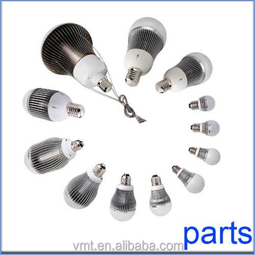 Precision Casting Aluminum Led Light Bulb Parts With E40 Holder ...