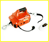 AC 120v portable traction block , remote control automatic winch , electric wire rope hoist 500kg