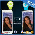 Universal portable LED night light RK07 mini clip selfie enhancing flashlight