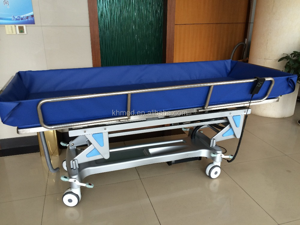 JY-MYC disabled use shower bed electric shower table