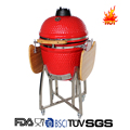 Outdoor Camping Equipment Wood Charcoal Folding Barbecue Grill